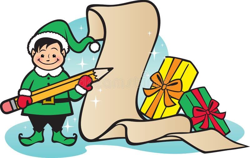 Santa S List Royalty Free Stock Image