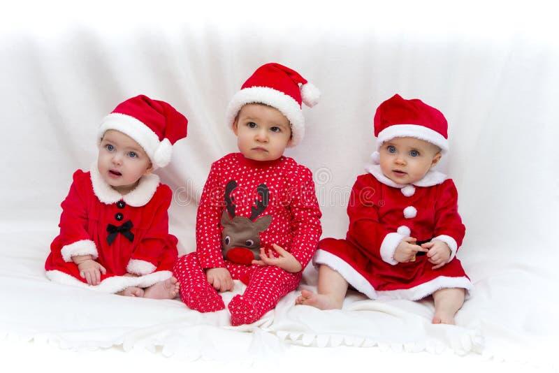 Santa's Little Helpers stock images