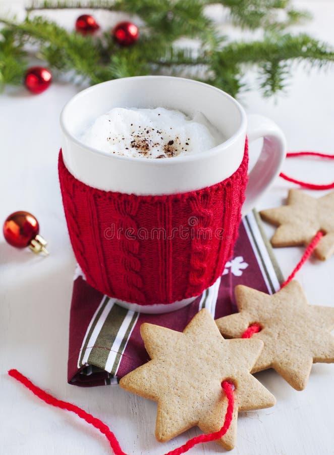 Santa's milk stock photo