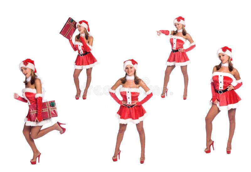 Santa's Helpers stock images