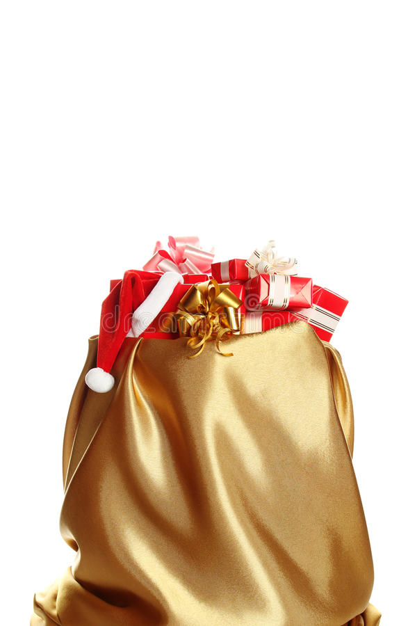 Santa sack with gifts