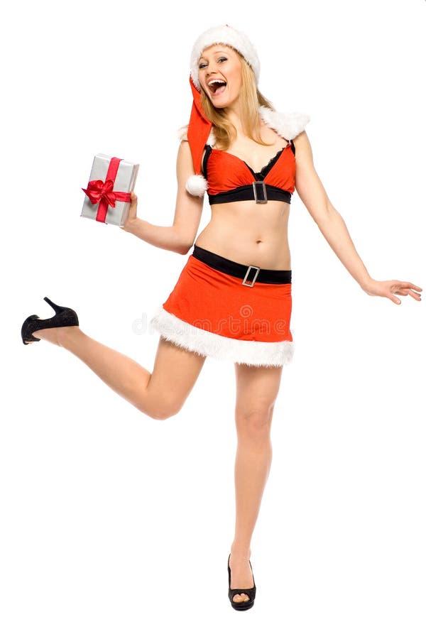 Santa sexy image libre de droits