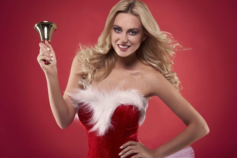Santa sexy image stock