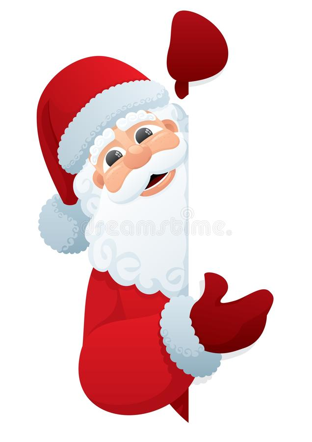 Santa Sign royalty free stock image