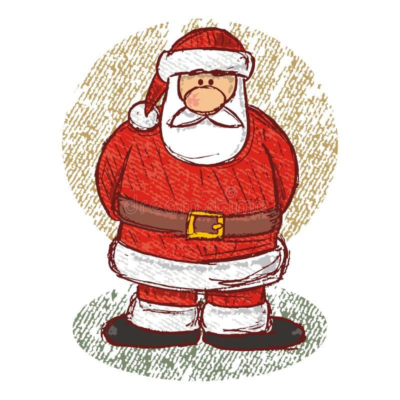 Download Santa sketch (vector) stock vector. Image of illustration - 3649383