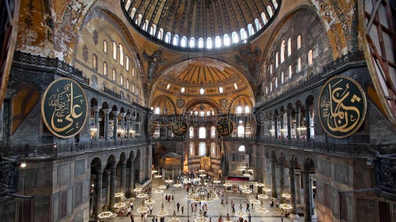 Santa Sofia Costantinopoli fotografie stock libere da diritti