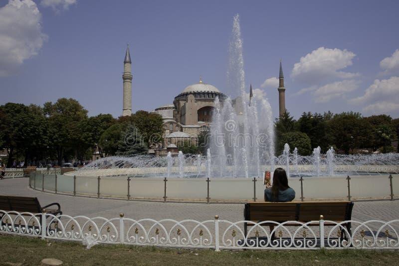 Santa Sofia a Costantinopoli immagine stock libera da diritti