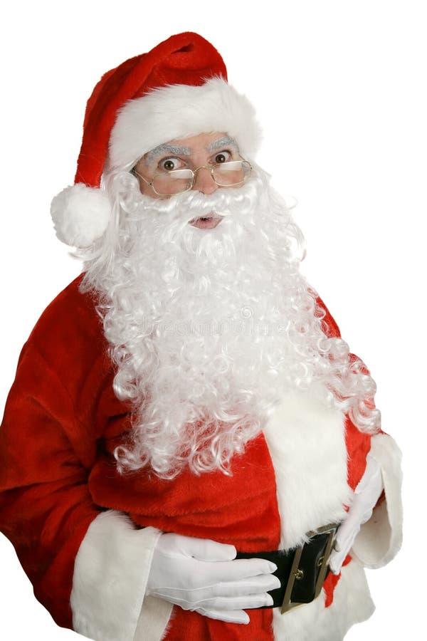 Santa sorprendió fotos de archivo