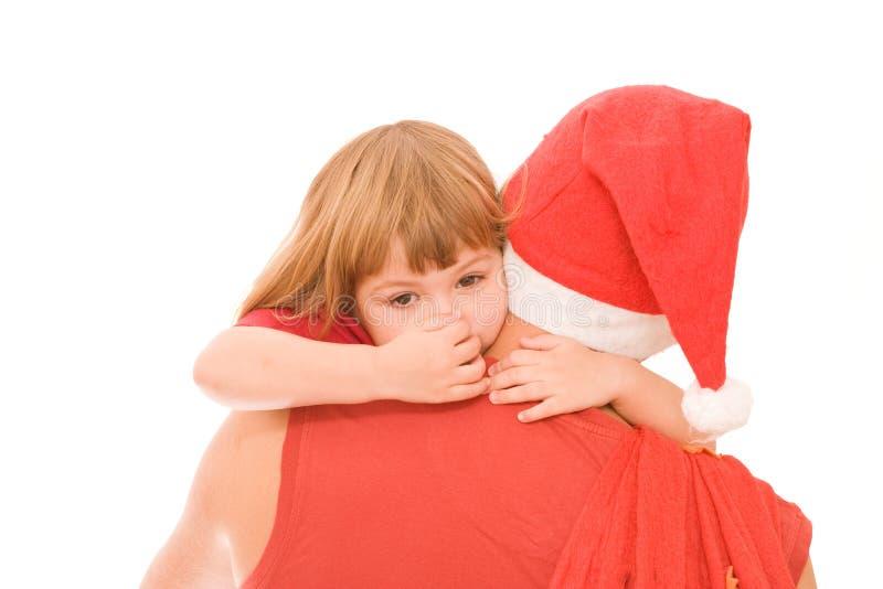 Santa sta venendo! immagine stock