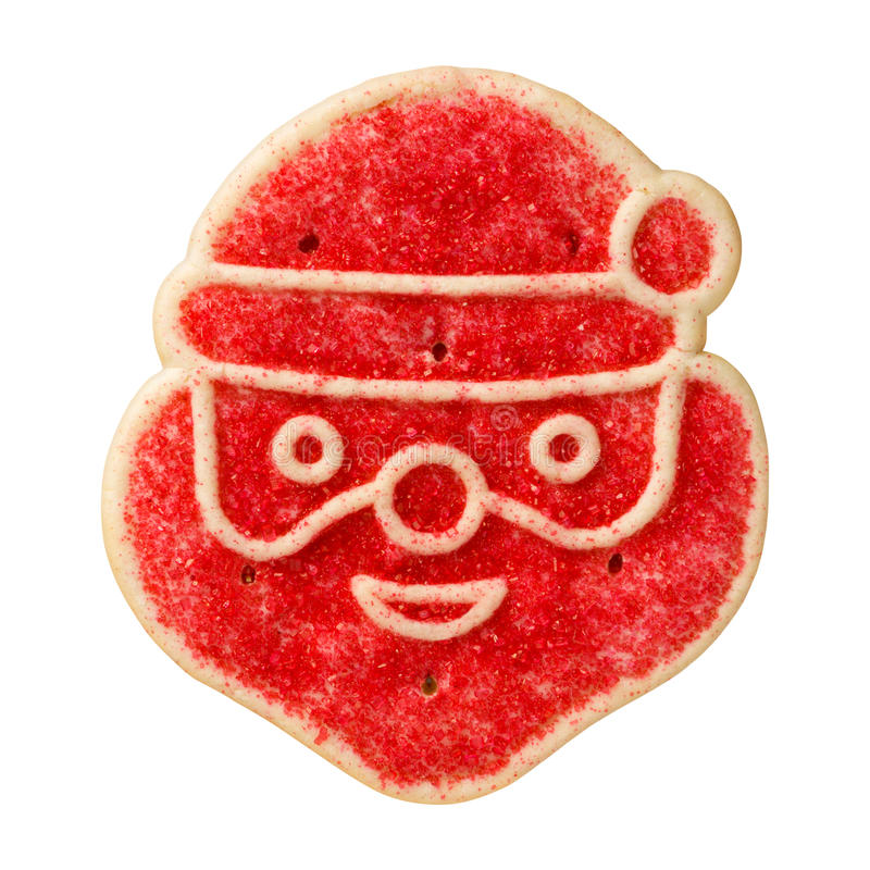Santa Sugar Cookie foto de stock