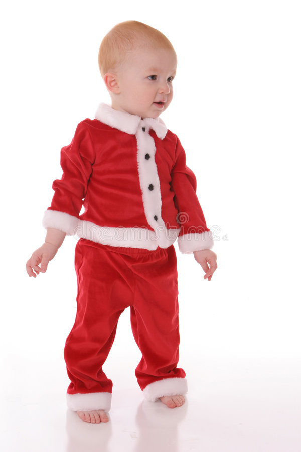 Download Santa Suit2 stock photo. Image of smirk, toddler, happy - 500890