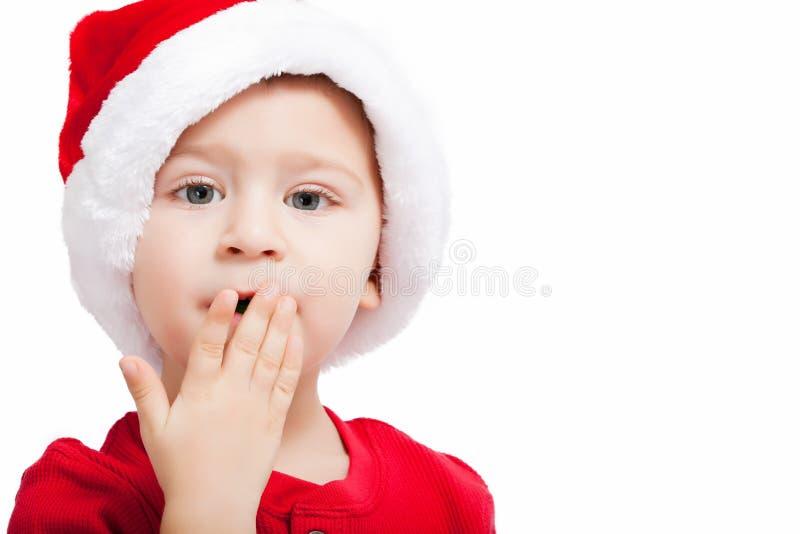 Santa sveglia fotografie stock libere da diritti