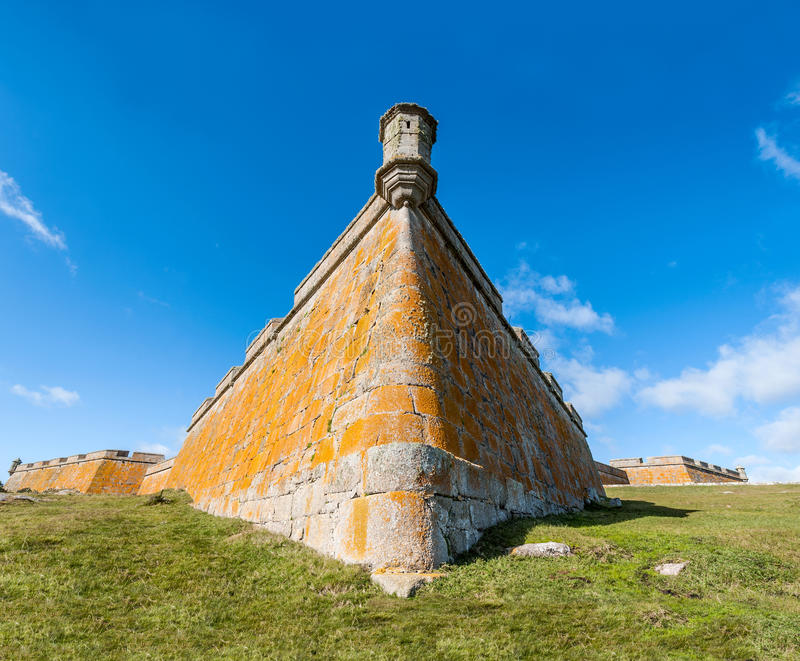 Santa Teresa fort rocha Urugwaj zdjęcia stock