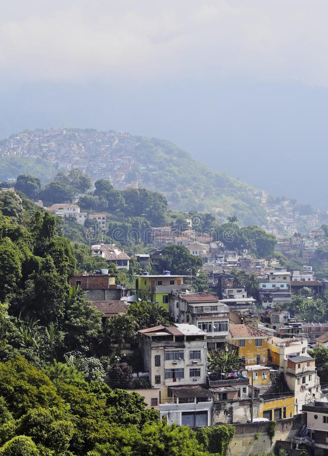 Santa Teresa Neighbourhood w Rio fotografia royalty free