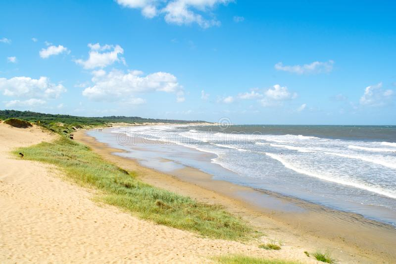 Santa Teresa park narodowy, Rocha, Urugwaj zdjęcia royalty free