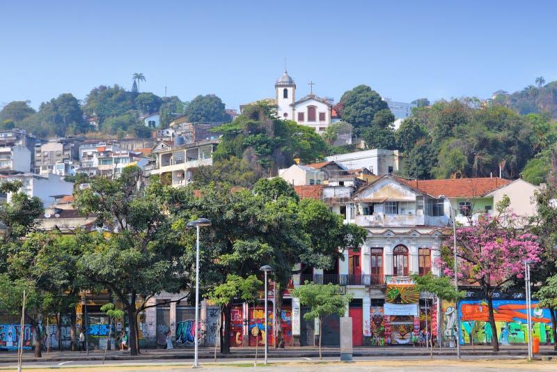 Santa Teresa Rio de Janeiro arkivfoton