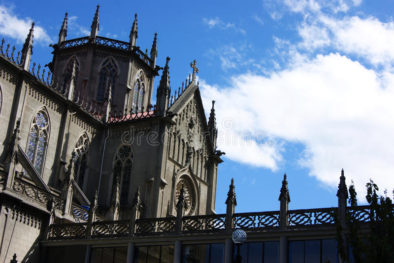 Santa Teresita in Quito, Ecuador royalty free stock photography