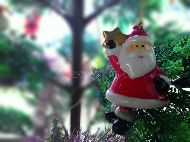 Santa van het stuk speelgoed stock foto's