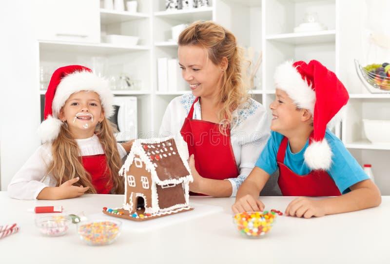 Santa veio no in3cio deste ano imagem de stock royalty free