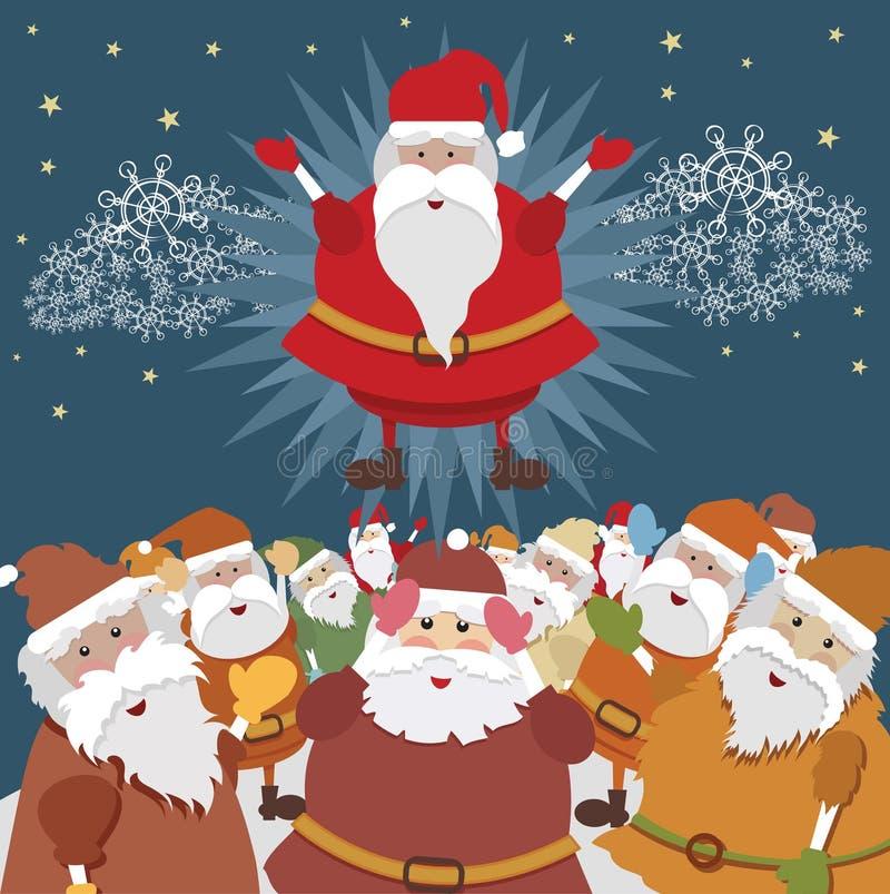 Santa verdadero libre illustration