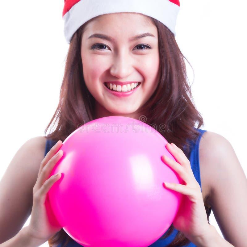 Santa Woman lizenzfreie stockfotografie