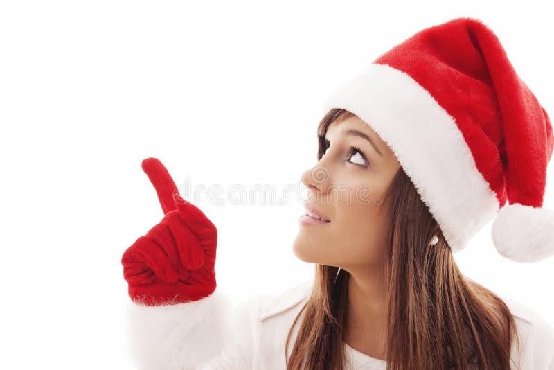 Download Santa woman stock image. Image of person, human, copy - 33127349