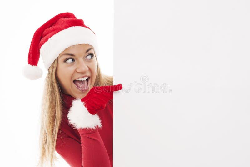 Download Santa woman stock photo. Image of beautiful, mouth, laughing - 33128094