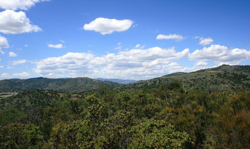 Santa Ysabel Panorama immagine stock libera da diritti