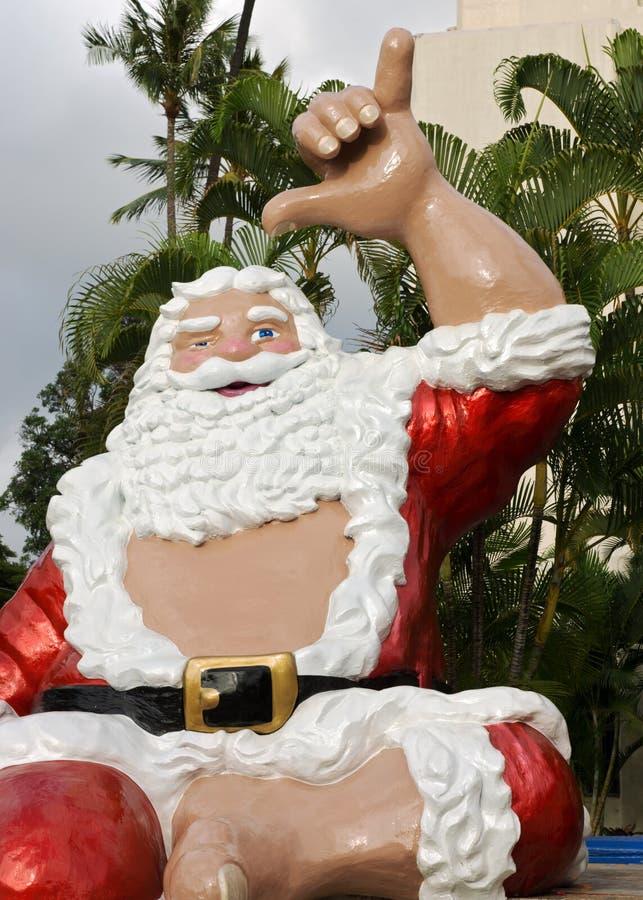 Santa zrozumienia dziesięć obraz stock