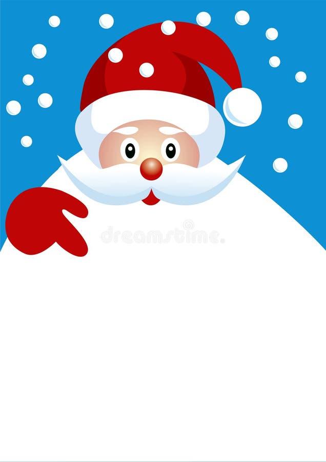 Santa01 illustration libre de droits