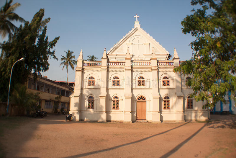 Santacruz Basilica. Roman Catholic place of worship in Kochi (Cochin), Kerala royalty free stock image