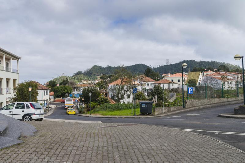 Santana στο νησί της Μαδέρας στοκ φωτογραφία