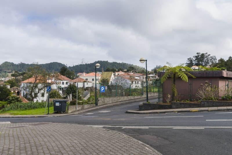Santana στο νησί της Μαδέρας στοκ φωτογραφίες