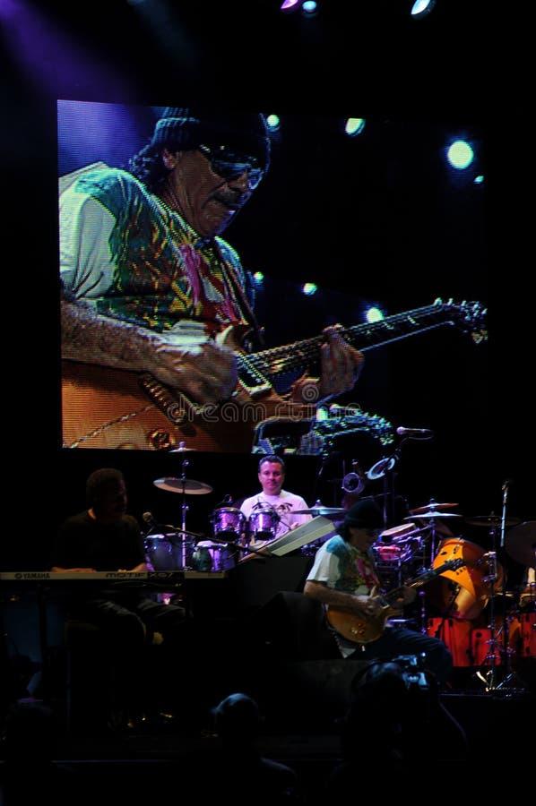 santana συναυλίας του Carlos στοκ εικόνα με δικαίωμα ελεύθερης χρήσης