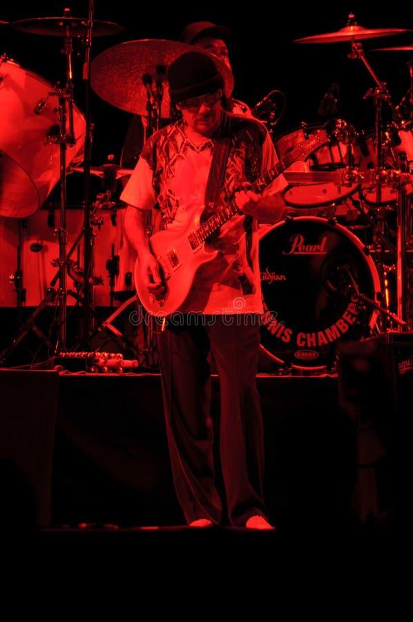 santana συναυλίας του Carlos στοκ εικόνα