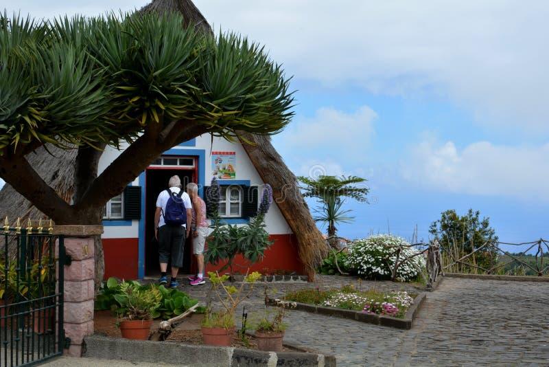 Santana, madery wyspa zdjęcie royalty free