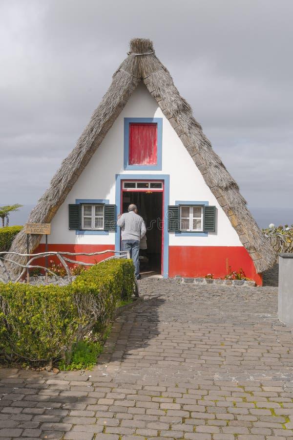 Santana na madery wyspie zdjęcie royalty free