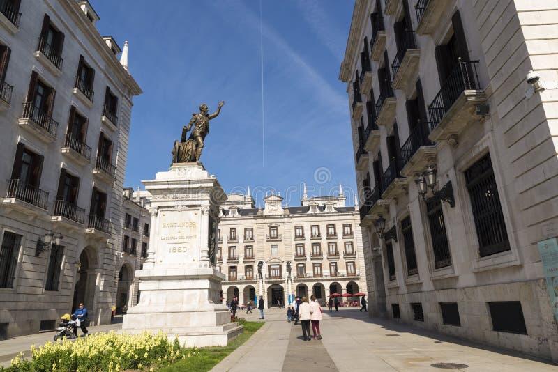 Santander fotografia de stock