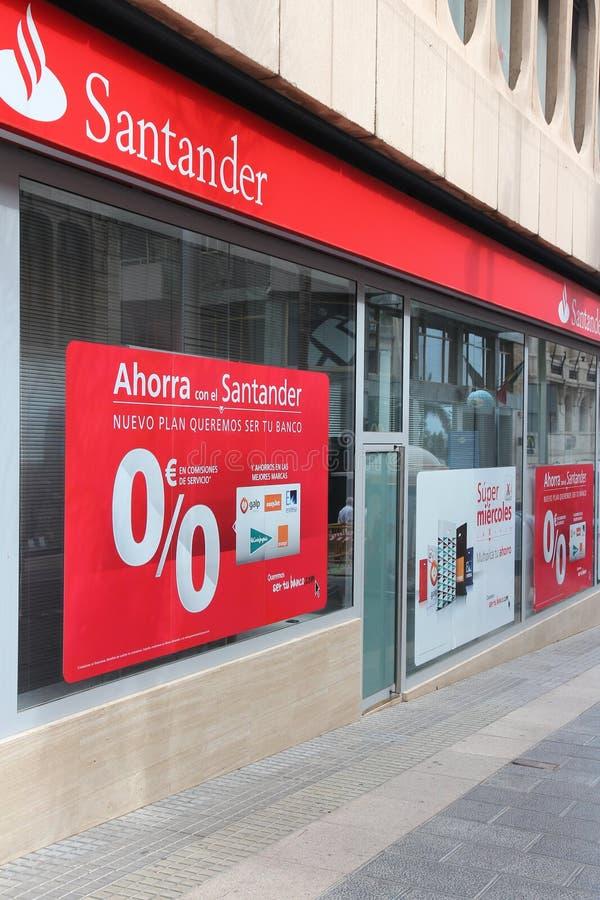 Santander Bank stock image