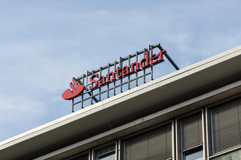The Santander Group Is A Spanish Banking Group Editorial Photo