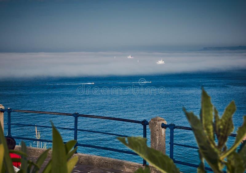 Santander natura i brzegowy widok zdjęcie stock