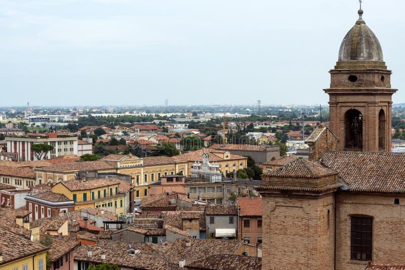 Santarcangelo di Romagna (Rímini, Italia) fotos de archivo libres de regalías