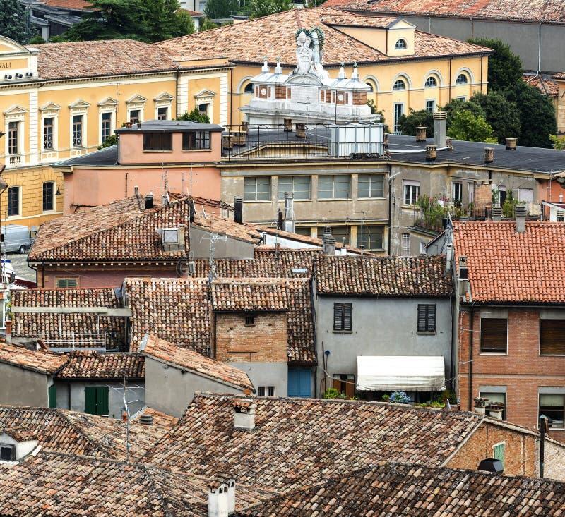 Santarcangelo di Romagna (Rimini, Itália) fotos de stock royalty free