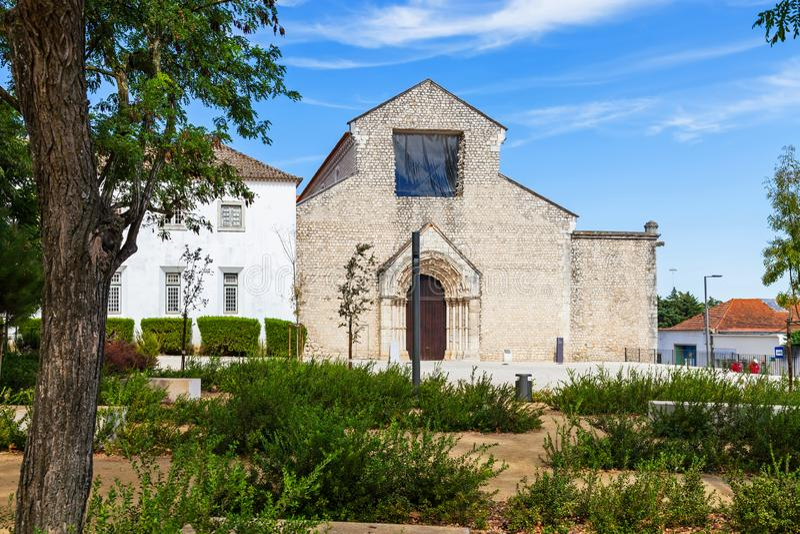 Santarem, Portugal Convento de Sao Francisco Convent imagens de stock royalty free