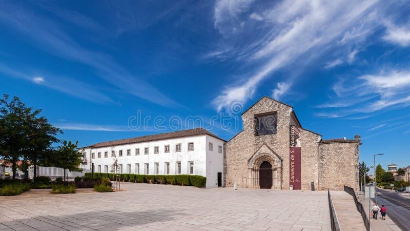 Santarem, Portugal - Convento DE Sao Francisco Convent royalty-vrije stock foto