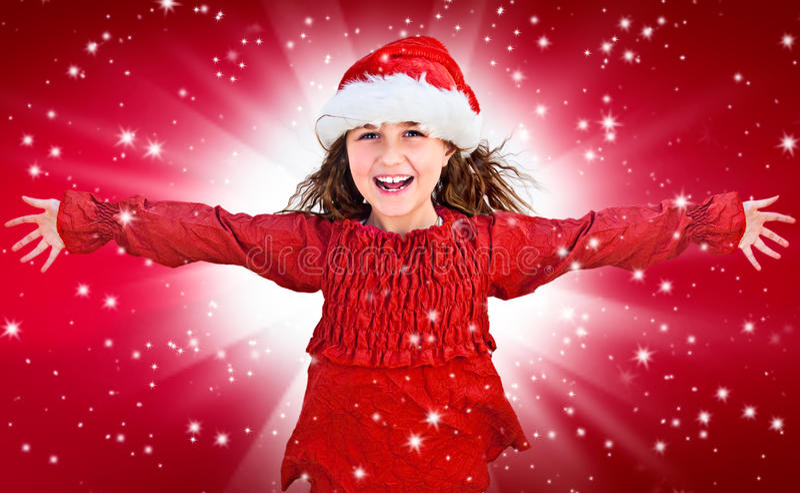 Santas 16 stock afbeelding
