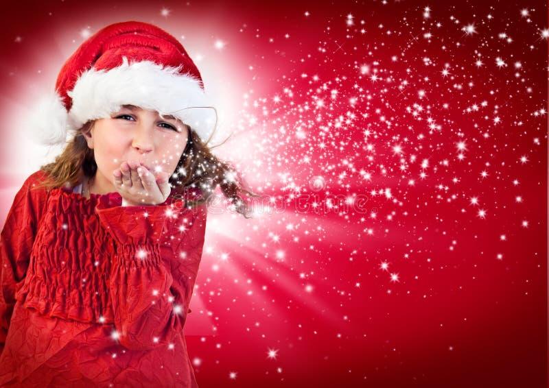 Santas 8 royalty-vrije stock afbeelding