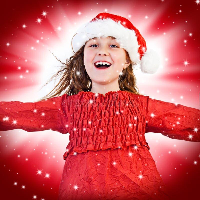 Santas 9 royalty-vrije stock foto