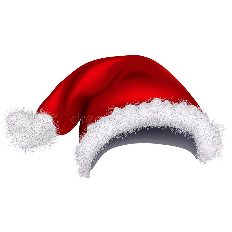 Santas Cap 1 vector illustration