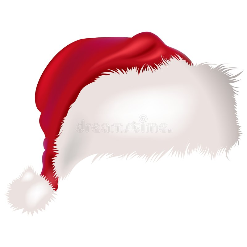 Download Santas Cap stock vector. Image of illustration, clipart - 1766569